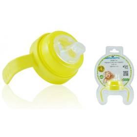 Pacific Baby (držáček, kroužek, savička) žltý