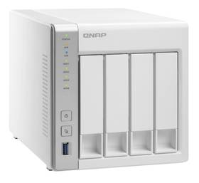 Datové uložiště (NAS) QNAP TS-431+ (TS-431+) bílá + Doprava zdarma