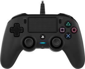 Nacon Wired Compact Controller pro PS4 (ps4hwnaconwccb) černý