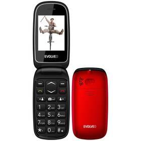 Evolveo EasyPhone FD (EP-700-FDR) červený