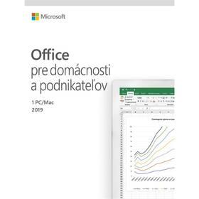 Microsoft Office 2019 pre domácnosti a podnikatelov SK (T5D-03231)