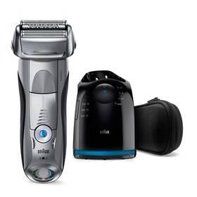 Braun Series 7 7899cc Clean&Charge Wet&Dry stříbrný