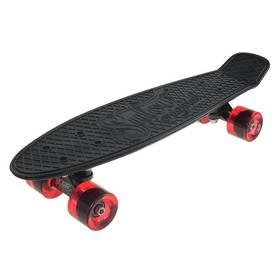 """Penny board Sulov 22"""" RETRO VENICE černý/tr. červený"""