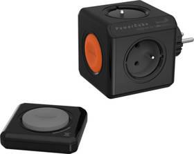 Powercube Original Remote Set, 4x zásuvka + ovladač černá