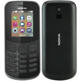 Nokia 130 (2017) (A00028519) černý (vrácené zboží 8800929708)