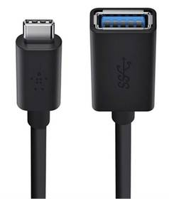 Belkin USB 3.1 / USB-C, 1,5m (F2CU036btBLK) čierny