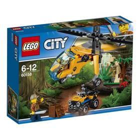 LEGO® CITY JUNGLE EXPLORERS 60158 Nákladní helikoptéra do džungle