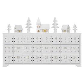 EMOS adventní kalendář, 37x23cm, 2x AA, vnitřní, teplá bílá (1534220800) (vrácené zboží 8800841066)