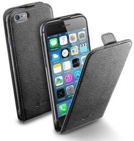 Puzdro na mobil flipové CellularLine Flap Essential pro Apple iPhone 6/6s (FLAPESSIPH647K) čierne