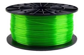 Filament PM 1,75 PETG, 1 kg (F175PETG_TGR) zelená/průhledná