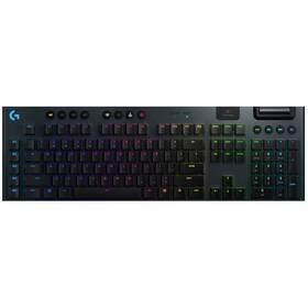 Logitech Gaming G915 Lightspeed RGB, Linear, US (920-008962) černá