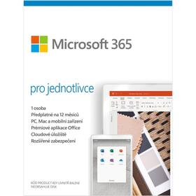 Microsoft 365 pro jednotlivce CZ (QQ2-00986)