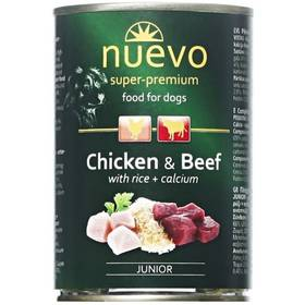 Nuevo Dog Junior  kuracie + hovädzie 400 g