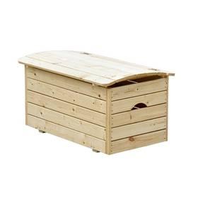 Dřevěná truhla CUBS na hračky + Doprava zdarma