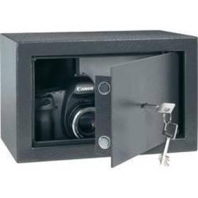 Trezor Conrad Electronic ocelový na klíč, 20, 310x 200 x 200 mm, antracit