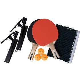 Set na stolný tenis Dunlop G-force Champ čierny/červený