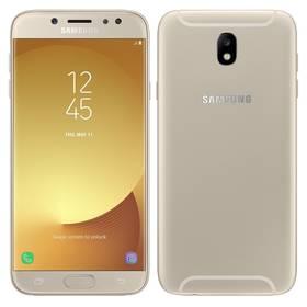 Samsung J7 2017 (J730F) (SM-J730FZDDETL) zlatý SIM s kreditem T-Mobile 200Kč Twist Online Internet (zdarma) + Doprava zdarma