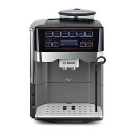 Bosch TES60523RW titanium + Káva BIO zrnková Uganda 250 g Simon Lévelt v hodnotě 159 Kč + Doprava zdarma