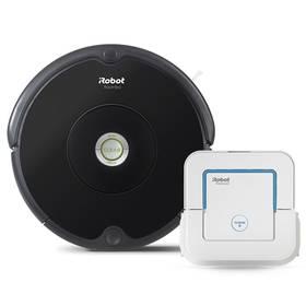 iRobot Roomba 606 + Braava jet 240 černý