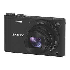 Sony Cyber-shot DSC-WX350 černý + Doprava zdarma