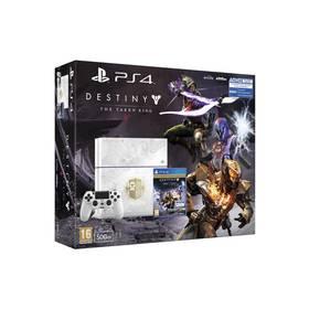 Sony PlayStation 4 500 GB + hra Destiny: Taken King Edition (PS719821946) bílá + Doprava zdarma