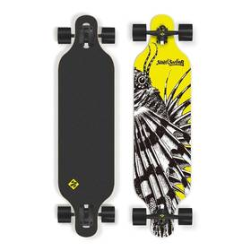 """Street Surfing Freeride 39"""" Dragon + Reflexní sada 2 SportTeam (pásek, přívěsek, samolepky) - zelené v hodnotě 58 Kč + Doprava zdarma"""