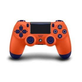 Sony Dual Shock 4 pro PS4 v2 - oranžový (PS719873969)