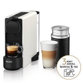 Krups Nespresso Essenza Plus XN511110 & Aeroccino 3 biele