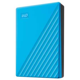 Western Digital My Passport Portable 4TB, USB 3.0 (WDBPKJ0040BBL-WESN) modrý