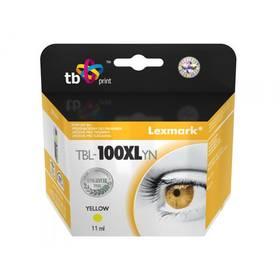 TB Lexmark 14N1071E - kompatibilní (TBL-100XLYN) žltá
