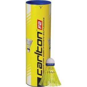 Badmintonové košíčky Carlton F2 Yellow 6 ks (střední) modré