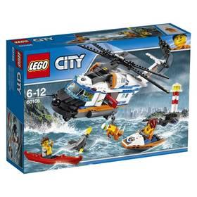 LEGO® CITY COAST GUARD 60166 Výkonná záchranářská helikoptéra + Doprava zdarma