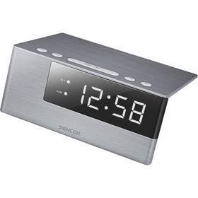 Budík Sencor SDC 4600 WH stříbrné (vrácené zboží 8800294654)