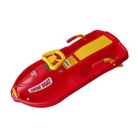 Plastkon SNOW BOAT červené/plast + Doprava zdarma