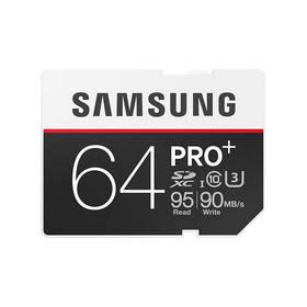 Samsung SDXC PRO+ 64GB UHS-I U3 (95R/90W) (MB-SD64D/EU) + Doprava zdarma