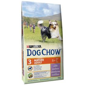 Purina Dog Chow Mature Adult jehněčí 14 kg