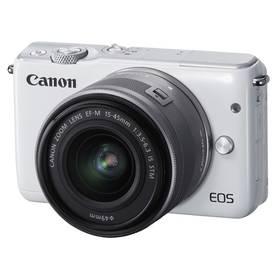 Canon EOS M10 + 15-45mm STM bílý