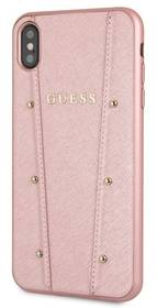 Guess Kaia Hard Case pro Apple iPhone Xs Max (GUHCI65KAILRG) růžový (rozbalené zboží 8800444039)