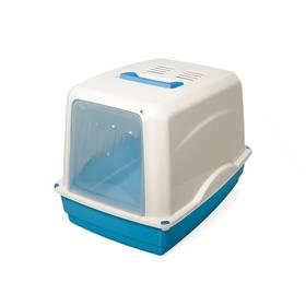 Toaleta Argi krytá s filtrem - 54 x 39 x 39 cm modrá
