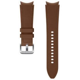 Samsung Galaxy Watch4 Classic 46mm, hybridní kožený (20 mm, M/L) (ET-SHR89LAEGEU) hnedý