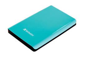 Externý pevný disk Verbatim Store 'n' Go 500GB (53171) zelený
