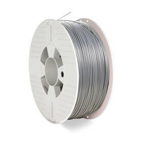 Tlačová struna (filament) Verbatim PLA 1,75 mm pro 3D tiskárnu, 1kg (55319) strieborná