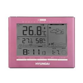 Meteorologická stanica Hyundai WSC 2180 P ružová