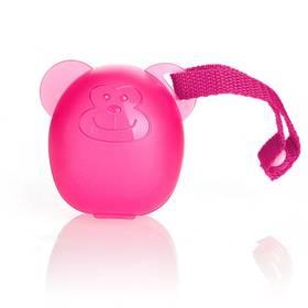 DIAGO Pouzdro na dudlík opička růžové
