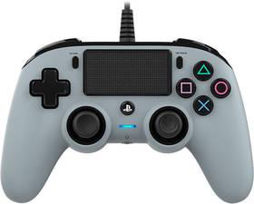 Nacon Wired Compact Controller pro PS4 - camouflage šedý (ps4hwnaconwccgrey) (vrácené zboží 8800590295)