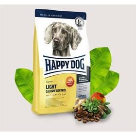 HAPPY DOG Light Calorie Control 12,5 kg Konzerva HAPPY DOG Rind Pur - 100% hovězí maso 200 g (zdarma) + Doprava zdarma
