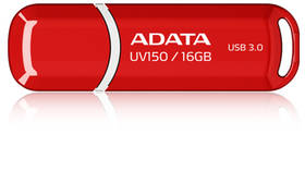 USB Flash ADATA UV150 16GB (AUV150-16G-RRD) červený