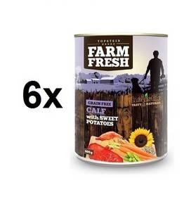 Farm Fresh Calf & Sweet Potato 6 x 400 g