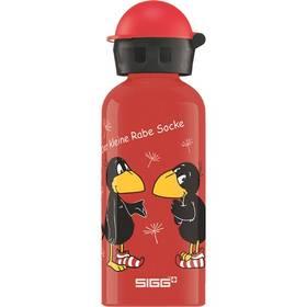 Sigg dětská Kleiner Rabe Socke, 0.4 L červená