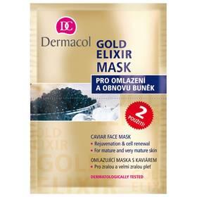 Omlazující maska s kaviárem (Gold Elixir Caviar Face Mask) 2 x 8 g